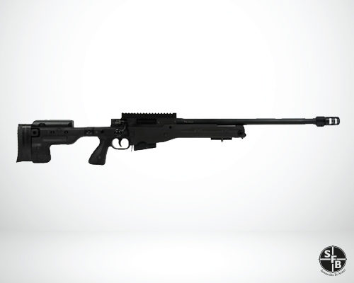 "Accuracy International AT Threaded Folding Black .308 Win. 20"" Rifle"